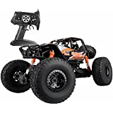 MZ Remote Control High Speed Vehicle 1:10 Scale 2.4Ghz 4WD Electric RC Off Road Oversized Bigfoot Monster Truck  (Orange)