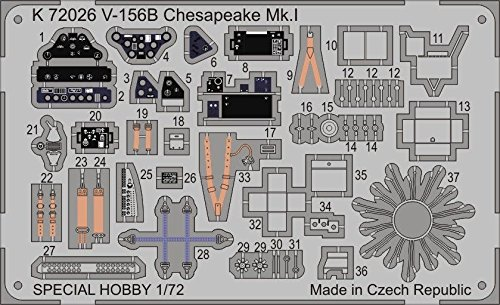 Chesapeake Metall (MPM K72026 - V-156B Chesapeake Mk.I)
