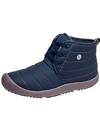 Fuxitoggo Zapatos de algodón de Terciopelo a Prueba de Agua para Mujer  Zapatos de Felpa Botas 4b891f67ec958