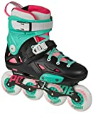Powerslide Imperial One Fluor, Skates Inline pour Adultes
