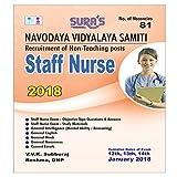 Navodaya Vidyalaya Samiti (NVS) Staff Nurse Exam Study Books 2018