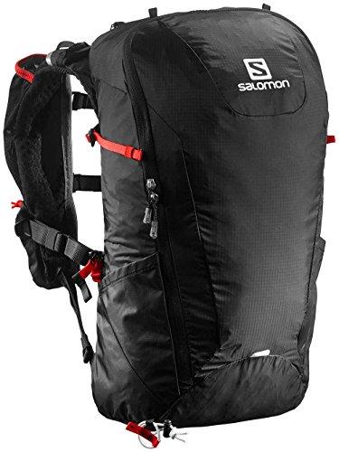 Imagen de  para excursiones salomon peak 20, unisex, black/bright red, talla única