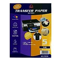 Peeling Type Dark T-shirt Dark Fabric Transfer Paper A4 Size (Taiwan)