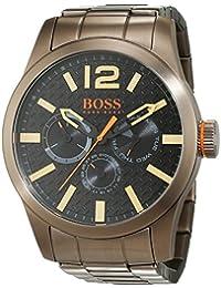 BOSS Orange Herren-Armbanduhr PARIS Multieye Analog Quarz Edelstahl beschichtet 1513313