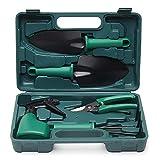 ChaRLes 5Pcs acier au carbone équipement de jardinage Bonsai outils kits Cutter ciseaux outil ensemble