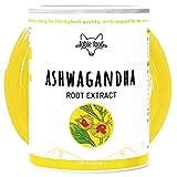 fable food® Premium Ashwagandha Wurzel-Extrakt mit 7% Withanolide | 120 Kapseln | Vegan und ohne Zusatzstoffe | Hergestellt in Deutschland