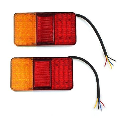 Generic 2xRückleuchten LED Heckleuchten Rücklicht Set Anhänger Wohnwagen Anhängerlicht