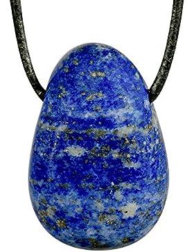 Anhänger Lapislazuli Lochstein Tropfen Lapis Lazuli