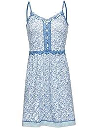400cec52e827b0 Vive Maria Little Peafowl Negligé Nachthemd mint-melange/Allover-Print