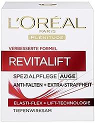 L'Oreal Paris Augencreme Revitalift Anti Falten Feuchtigkeit Anti-Age Augenpflege 15ml