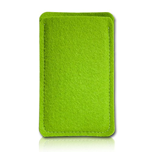 Filz Style Nokia P1 Filz Handy Tasche Hülle Etui passgenau für Nokia P1 - Farbe grün