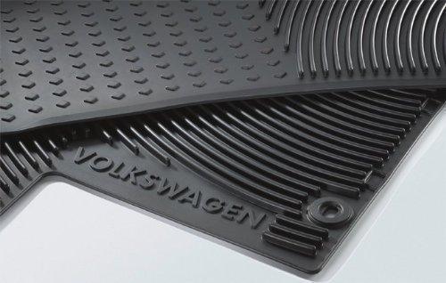 Preisvergleich Produktbild VW T5 Gummi Fußmatten (Transporter/Kombi/Multivan/Caravelle)