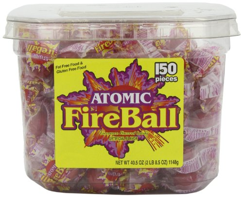 63ecaad357096 Ferrara Pan Atomic Fire Ball 40.5 OZ (1.15kg)