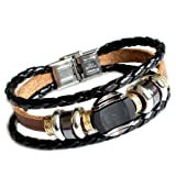 Couple Bracelet Unisex Leather Bracelet Jewelry Bangle bracelet women Leather Bracelet Men Leather Bracelet SL2358