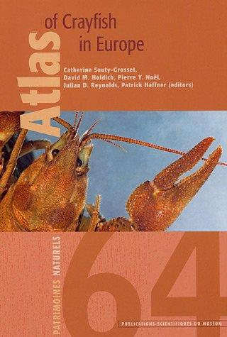Atlas of crayfish in Europe