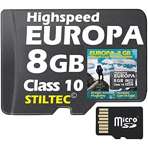Inghilterra/lrlanda Topo carta 8 GB - per Garmin Colorado 300