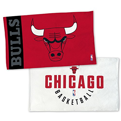 WinCraft NBA CHICAGO BULLS Authentic On-Court Bench Handtuch 107cm x 56cm