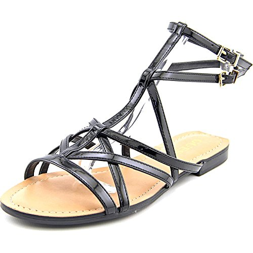 Guess Mannie Synthétique Sandales Gladiateur Black