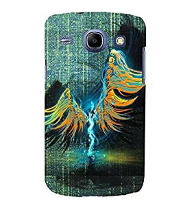 PRINTSWAG WINGS Designer Back Cover Case for SAMSUNG GALAXY CORE I8262