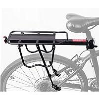 COMINGFIT® Portaequipajes para Bicicleta Aleación de Aluminio con Reflector-Capacidad de carga máxima: