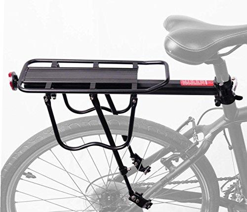 COMINGFIT® 50kg Kapazität Einstellbare Fahrrad Gepäck Cargo Rack-Super Starke Upgrade Fahrrad Gepäckträger