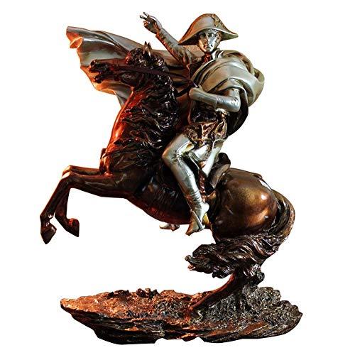 Resina marrón plateada Escultura creativa Modelo