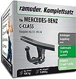 Rameder Komplettsatz, Anhängerkupplung starr + 13pol Elektrik für Mercedes-Benz C-Class (113668-06224-11)