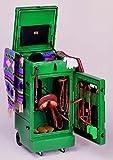 Mobiler Turniersattelschrank - dunkelgrün