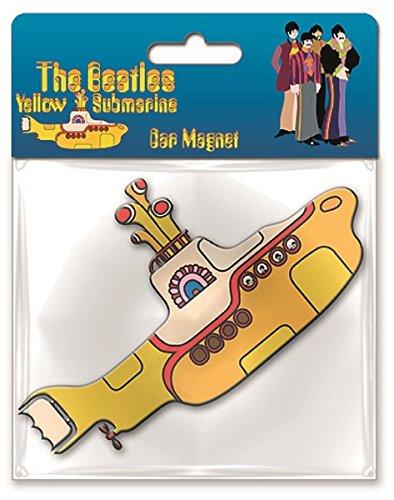 Yellow Submarine Submarine Car Magnet - Beatles Yellow Submarine Magnet
