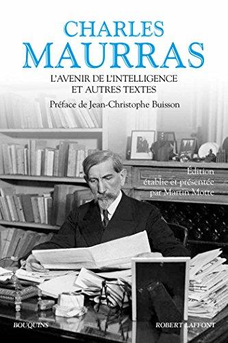 Couverture du livre L'Avenir de l'intelligence et autres textes