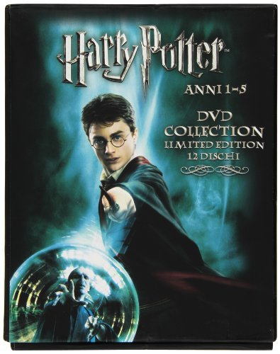 Harry Potter - Anni 1-5 (DVD collection limited edition) Stagione 01-05 [IT Import]