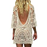 Best Coverups - Sexy Women's Bathing Suit Cover Up Crochet Lace Review