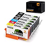 JARBO Ersetzt für HP 364XL 364 Druckerpatronen (inkl. 1x Foto-schwarz) Kompatibel mit HP Photosmart 6520 5510 7510 7520 6510 5515 5520 C5380 B110 HP OfficeJet 4620 4622 HP Deskjet 3070A 3520 3524