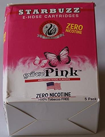 Lot de 8 Cartouches STARBUZZ Saveur Pink