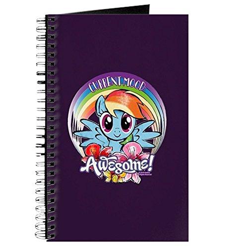 CafePress-My Little Pony aktuellen Stimmung Awesome-Spiralbindung Journal Notizbuch, persönliches Tagebuch, blanko (Liste Der My Little Ponys)