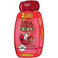 Garnier Ultra Dolce Shampoo 2-in-1 per Bambine alla Ciliegia e Mandorla Dolce, Senza Parabeni, Ipoallergenico, 300 ml [Confezione da 2]