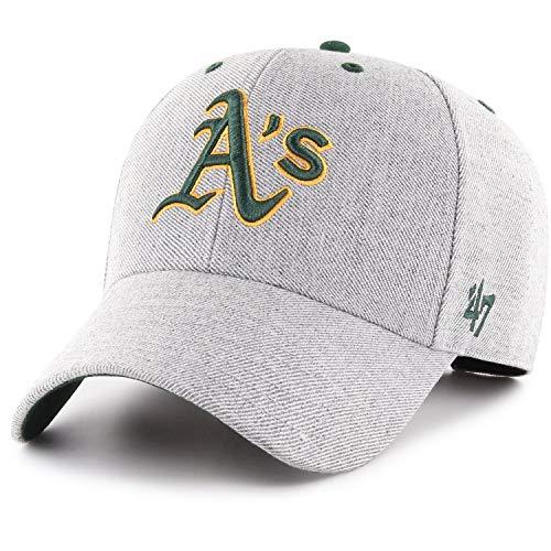 47 Brand Adjustable Cap - Cloud Oakland Athletics grau -