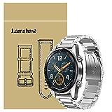 Ceston Metal Acier Classique Bracelet De Remplacement pour Montres Connectées Huawei Watch GT (Argent)