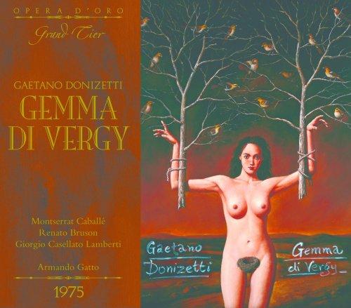 OPD 7055 Donizetti-Gemma di Vergy: Italian-English Libretto (Opera d'Oro Grand Tier) (English Edition)