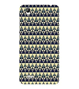 ifasho Designer Phone Back Case Cover Vivo Y31 :: VivoY31L ( Black White Orange Colorful Pattern Design )
