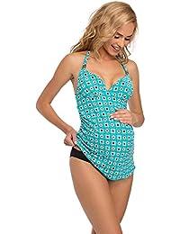 45db4826aec99 Amazon.co.uk: Turquoise - Swim / Maternity: Clothing