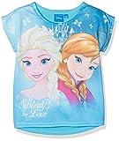 Disney FZSP27114, Camiseta para Niñas, Azul (Blue), 6 Años