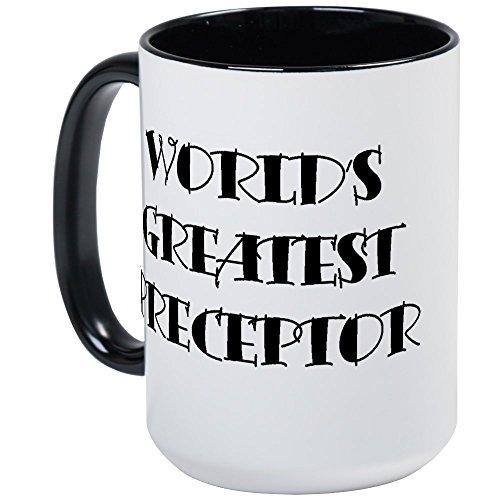 (CafePress–präzeptor Grande 'Kaffee Tasse–Kaffee Tasse, groß 15Oz Weiß Kaffee Tasse Large White/Black Inside)