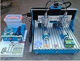 Gowe Doppel Spindel 4Axis Cnc Router mit linearer Führungsschiene Mini CNC-Fräsmaschine