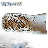 Nietenhandschuh für Rohrreinigungsspiralen links