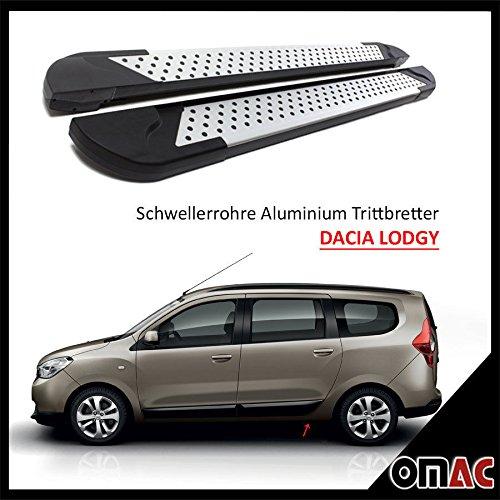 schweller tubi Pedane in Alluminio per Dacia Lodgy DOKKER AB 2012Almond (203)