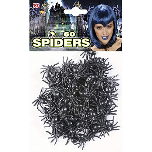 Widmann 8238R Spinnen Set, Unisex- Erwachsene, Schwarz, One - Krabbeltiere Kostüm