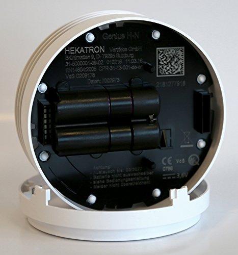 Hekatron Genius H Rauchmelder 8er Pack