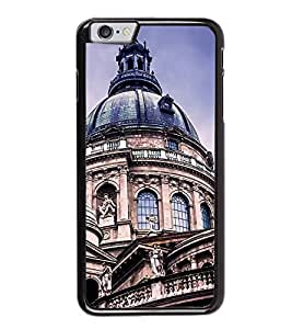 Fuson Premium 2D Back Case Cover Church Tomb With Black Background Degined For Apple iPhone 6S Plus