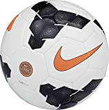 Nike Club Team Fussball, White/Black/Total Orange, 5, SC2283-107